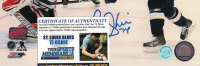 T. J. Oshie Signed Blues 8x10 Photo (Oshie COA & Oshie Hologram) at PristineAuction.com