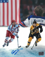 Charlie McAvoy Signed Bruins 8x10 Photo (McAvoy COA) at PristineAuction.com