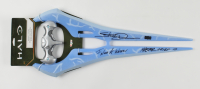 """Steve Downes Signed """"Halo"""" Energy Sword Inscribed """"I Need A Weapon!"""" & """"Master Chief 117"""" (Radtke COA) at PristineAuction.com"""