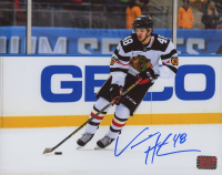 Vinnie Hinostroza Signed Blackhawks 8x10 Photo (Hinostroza COA) at PristineAuction.com
