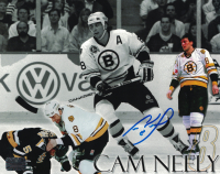 Cam Neely Signed Bruins 8x10 Photo (Neely COA) at PristineAuction.com