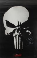 "Jon Bernthal Signed ""The Punisher"" 24x36 Movie Poster With Original Skull Sketch (Radtke COA) (See Description) at PristineAuction.com"