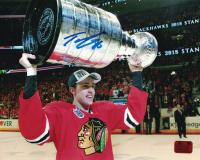 Teuvo Teravainen Signed Blackhawks 8x10 Photo (Teravainen COA) at PristineAuction.com