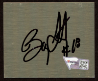 "Bobby Labonte Signed 2.5"" x 3"" Metal Cut (Fanatics Hologram) (See Description) at PristineAuction.com"
