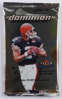 2000 Fleer Autographics NFL Dominion Football Trading Cards Pack with (10) Cards at PristineAuction.com