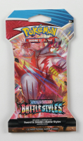 Pokemon TCG Sword & Shield Battle Styles Booster Pack with (10) Cards at PristineAuction.com