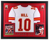 Tyreek Hill Signed 35x43 Custom Framed Jersey Display (JSA COA) at PristineAuction.com