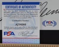 "LeRoy Neiman Signed ""John Elway Broncos"" 24x31.5 Custom Framed Cut Display with Print of John Elway (JSA COA) at PristineAuction.com"