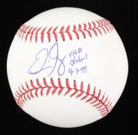 "Eric Gagne Signed OML Baseball Inscribed ""MLB Debut 9-7-99"" (JSA COA) at PristineAuction.com"