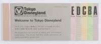Tokyo Disneyland Ticket Booklet at PristineAuction.com