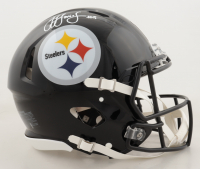 JuJu Smith-Schuster Signed Steelers Full-Size Authentic On-Field Speed Helmet (Beckett Hologram) at PristineAuction.com