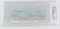 """Theodore """"Ted"""" Williams Signed Hand-Written 1975 Personal Bank Check (PSA Encapsulated) at PristineAuction.com"""