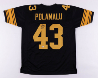 """Troy Polamalu Signed Jersey Inscribed """"HOF 20"""" (Beckett COA) at PristineAuction.com"""