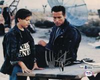 "Edward Furlong Signed ""Terminator 2: Judgement Day"" 8x10 Photo (Beckett COA) at PristineAuction.com"