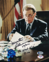 """Martin Sheen Signed """"The West Wing"""" 8x10 Photo Inscribed """"1/4/2021"""" & """"The West Wing 99-06"""" (Beckett COA) at PristineAuction.com"""