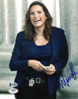 "Mariska Hargitay Signed ""SVU Law & Order"" 8x10 Photo (Beckett COA) at PristineAuction.com"