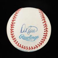 OAL Baseball Signed by (4) with Yogi Berra, Dale Berra, Larry Berra & Tim Berra (Beckett LOA) at PristineAuction.com