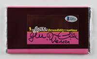 """Julie Dawn Cole Signed """"Willy Wonka & The Chocolate Factory"""" Replica Wonka Bar Inscribed """"Veruca"""" (Beckett COA) at PristineAuction.com"""