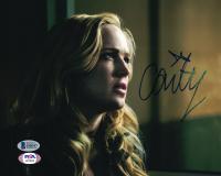 "Caity Lotz Signed ""Arrow"" 8x10 Photo (Beckett COA) at PristineAuction.com"