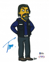 """Tommy Flanagan Signed """"Sons of Anarchy - The Simpsons"""" 8x10 Photo (Beckett COA) at PristineAuction.com"""
