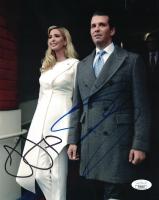 Donald Trump Jr. & Ivanka Trump Signed 8x10 Photo (JSA COA) at PristineAuction.com