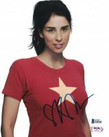 Sarah Silverman Signed 8x10 Photo (Beckett COA) at PristineAuction.com