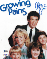 """Alan Thicke Signed """"Growing Pains"""" 8x10 Photo (Beckett COA) at PristineAuction.com"""