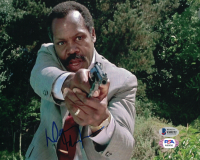 """Danny Glover Signed """"Lethal Weapon"""" 8x10 Photo (Beckett COA) at PristineAuction.com"""
