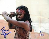 "Danai Gurrira Signed ""The Walking Dead"" 8x10 Photo (Beckett COA) at PristineAuction.com"