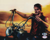 """Norman Reedus Signed """"The Walking Dead"""" 8x10 Photo (Beckett COA) at PristineAuction.com"""