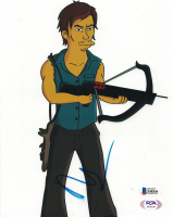 """Norman Reedus Signed """"The Walking Dead - The Simpsons"""" 8x10 Photo (Beckett COA) at PristineAuction.com"""