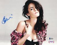 Kaya Scodelario Signed 8x10 Photo (Beckett COA) at PristineAuction.com