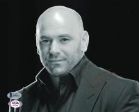 Dana White Signed 8x10 Photo (Beckett COA) at PristineAuction.com