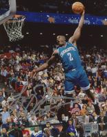 Larry Johnson Signed Hornets 8x10 Photo (TriStar Hologram) at PristineAuction.com