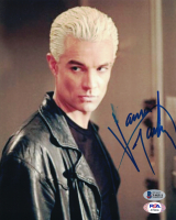"""James Marsters Signed """"Buffy the Vampire Slayer"""" 8x10 Photo (Beckett COA) at PristineAuction.com"""