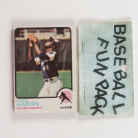 1972 Topps Baseball Card Fun Pack with (10) Cards (See Description) at PristineAuction.com
