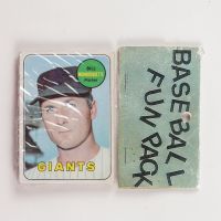 1969 Topps Baseball Card Fun Pack with (10) Cards (See Description) at PristineAuction.com