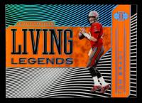 Tom Brady 2020 Panini Illusions Living Legends Orange #1 at PristineAuction.com