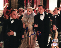 """Carey Mulligan Signed """"The Great Gatsby"""" 8x10 Photo (Beckett COA) at PristineAuction.com"""
