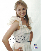 Dianna Agron Signed 8x10 Photo (Beckett COA) at PristineAuction.com