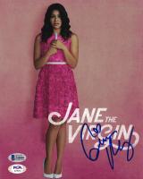 "Gina Rodriguez Signed ""Jane the Virgin"" 8x10 Photo (Beckett COA) at PristineAuction.com"