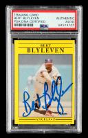 Bert Blyleven Signed 1991 Fleer #308 (PSA Encapsulated) at PristineAuction.com