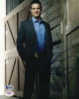 "Eddie McClintock Signed ""Castle"" 8x10 Photo (Beckett COA) at PristineAuction.com"