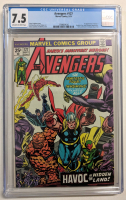 """1974 """"Avengers"""" Issue #127 Marvel Comic Book (CGC 7.5) at PristineAuction.com"""