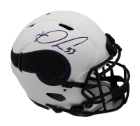 Dalvin Cook Signed Vikings Full-Size Authentic On-Field Lunar Eclipse Alternate Speed Helmet (JSA COA) at PristineAuction.com