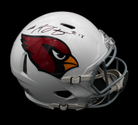 A.J. Green Signed Cardinals Full-Size Authentic On-Field Speed Helmet (Radtke COA) at PristineAuction.com