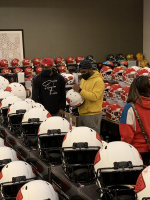 Clyde Edwards-Helaire Signed Chiefs Full-Size Authentic On-Field Lunar Eclipse Alternate Speed Helmet (Radtke COA) at PristineAuction.com