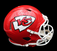 Clyde Edwards-Helaire Signed Chiefs Full-Size Authentic On-Field Speed Helmet (Radtke COA) at PristineAuction.com