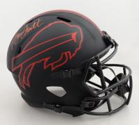 Bruce Smith Signed Bills Full-Size Eclipse Alternate Speed Helmet (Beckett COA) (See Description) at PristineAuction.com