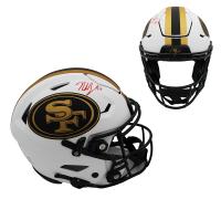 Nick Bosa Signed 49ers Full-Size Lunar Eclipse Alternate Authentic On-Field SpeedFlex Helmet (Radtke COA) at PristineAuction.com